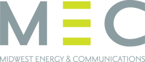 Midwest Energy and Communications logo
