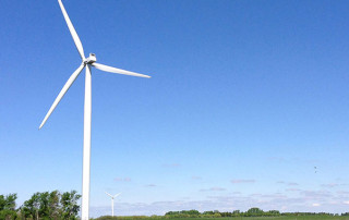 Deerfield Wind Project turbine