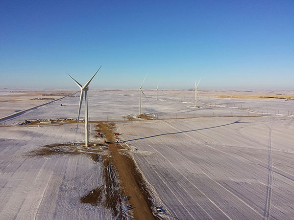 Algonquin Power - wind turbines