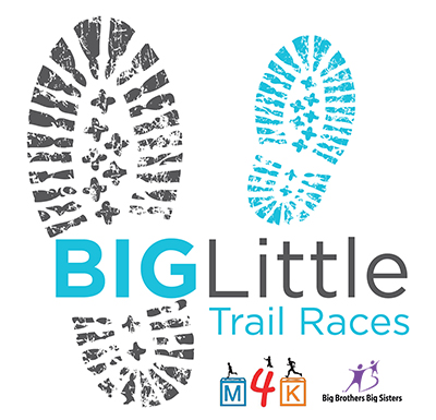 Big foot print and little footprint